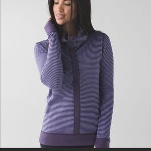 In a cinch pullover